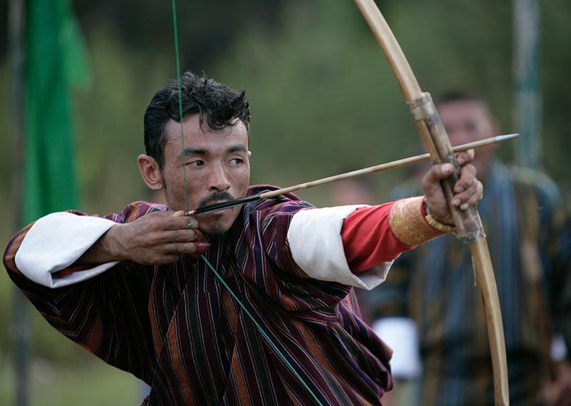 Bhutan Archery